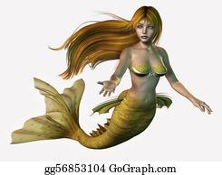 Legend - Gold Mermaid