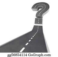 Economy - Question Mark On Road - Uncertainty
