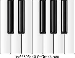 Music-Notes-On-Piano-Keyboard - The Keyboard Of The Classical Piano