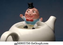 Tea-Pot - Humpty Dumpty
