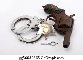 Badge - Old Gun