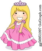 Little-Girls - Princess Costume