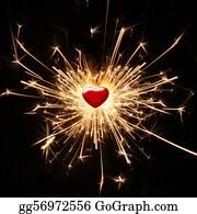 Flaming-Heart - Shiny Passion