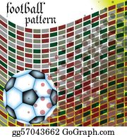 Football-Abstract - Football Abstract Pattern