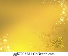 Christmas-Gold - Orange-Gold Christmas Feeling, Happy New Year