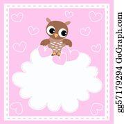 Baby-Girls - A Cute Little Baby Owl
