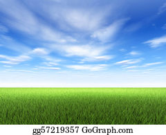 Blue-Sky - Grass And Sky