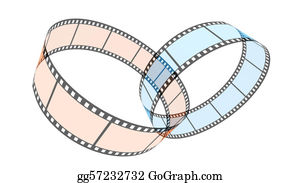 Rings - Two 3d Blank Films Ring