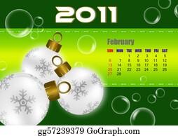 February - February Of 2011 Calendar