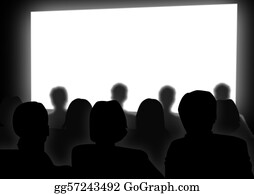 People-Watching-A-Movie - Cinema