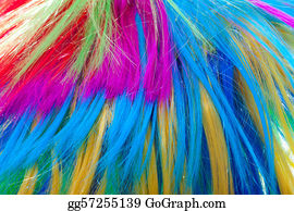 Wig - Background Color Hair