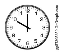 Black-White-Mode - Classic Wall Clock On The Wall