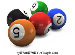 Billiards - Billiard Balls Out Of American Billiards