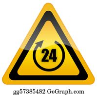 24-Hour - 24 Hour Sign