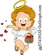 Baby-Girls - Female Baby Cupid