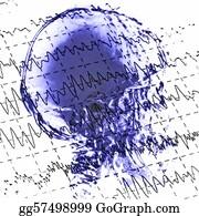 Mr-And-Mrs - Eeg Brainwaves And X-Ray Skull