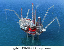 Drilling-Rig - Sea Oil Rig Drilling Structure