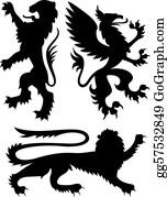Royal-Lion - Heraldic Griffin Design