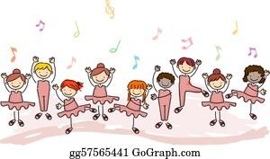 Perform - Kids Practicing Ballet