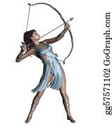 Legend - Diana (artemis) The Huntress
