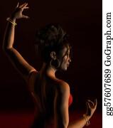 Dance-Of-Lights-In-The-Dark - Spanish Flamenco Dancer 2