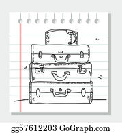 Suitcase - Scribble Suitcases