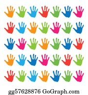 Multi-Ethnic-Group - Pattern-Hands