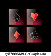 Spade - Glossy Symbols Of Playing Cards