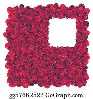 Valentine-Border-Hearts-Frame - Hearts Invasion Frame