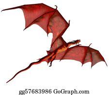 Legend - Red Dragon Gliding
