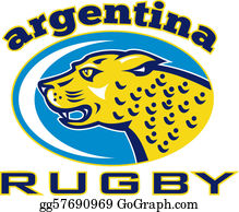 Growl - Rugby Argentina Jaguar Mascot Head