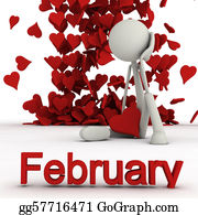 February - Stickman February