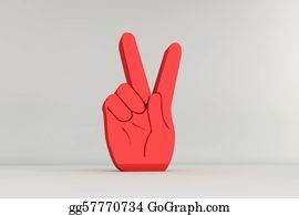 Hand-Sign - Victory Hand Sign