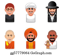 Priest - Avatar People Icons (religion)