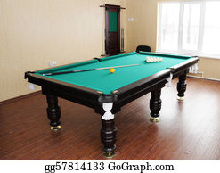 Pool-Party - Billiard Table