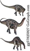 Horned-Lizard - Dicraeosaurus