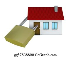 House-Alarm-Concept-Icon - Safe House