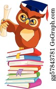 Graduation - Wise Owl With Graduation Cap
