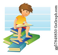 Boy-Reading - Boy Reading A Book