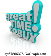 Time-For-Shopping - Great Time To Buy - Words Encouraging A Sale