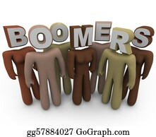 Multi-Ethnic-Group - Boomers - People Of Different Races And Older Age