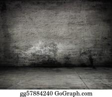 Cabin - Empty Dark Old Wall