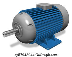 Coil - Industrial Electric Motor