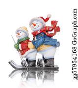 Parent - Snowmen Skiing