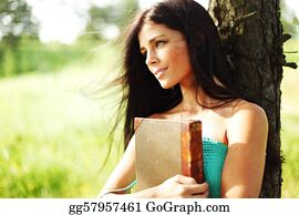 Big-Tree - Girl With Book