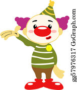 Purim - Circus Clown