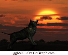 Halloween-Dog - The Wolf On Sunset