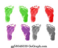 Baby-Footprint - Infant Footprints