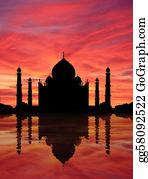 Legend - Taj Mahal Sunset