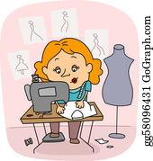 Sewing-Machine - Seamstress